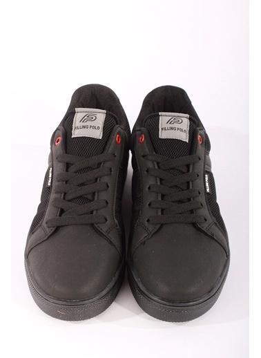 Rodrigo Erkek Beyaz Spor Ayakkabı Siyah